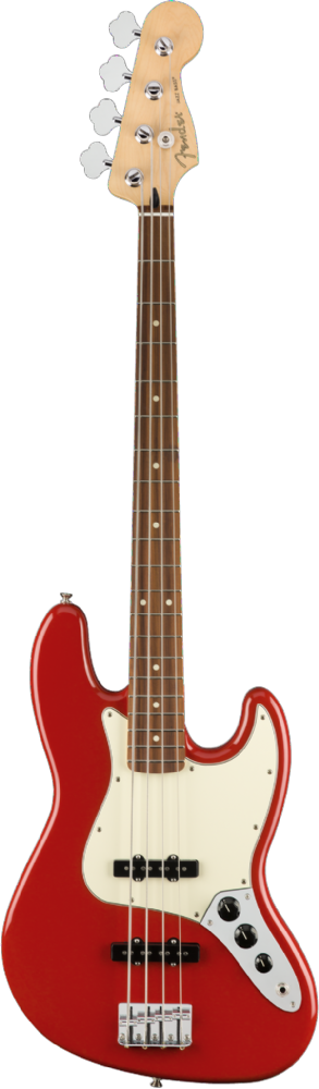 Fender Player Jazz Bass Pau Ferro Fingerboard Sonic Red